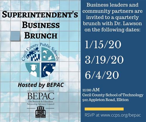 Superintendent's Business Brunch